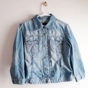 Stonewashed Calvin Klein Jean Jacket  Size L